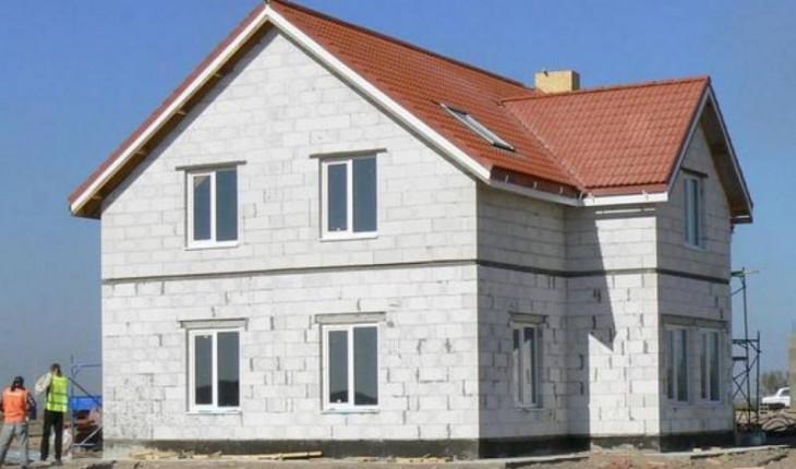 Жилые дома из бетонных блоков
