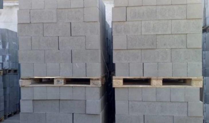Пескоцементные блоки для фундамента, стен, перегородок