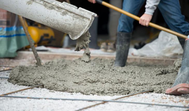 Технологический процесс твердения бетона