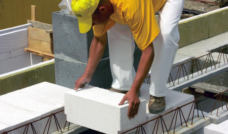 Технология укладки бетонных блоков