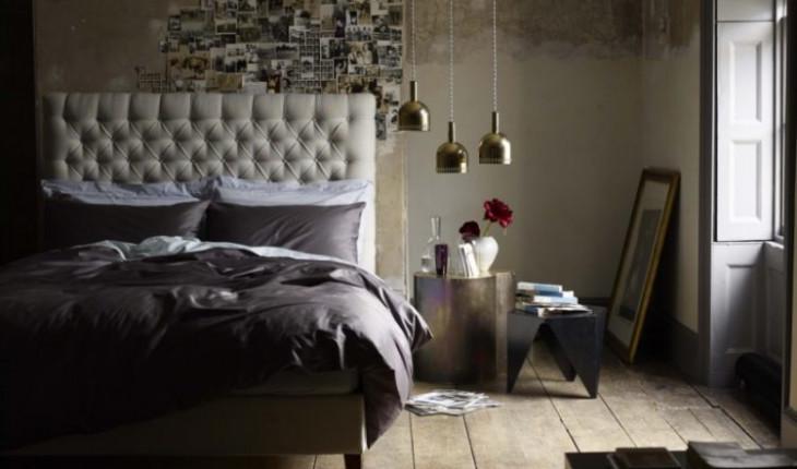 «Потертая» романтика в интерьере спальни