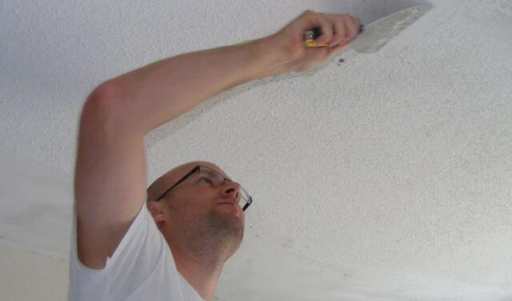 Как подготовить потолок к поклейке обоев