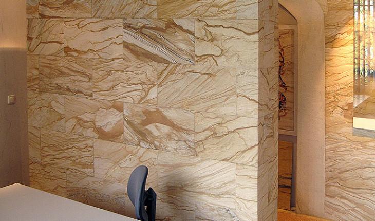 Колоритная отделка стен