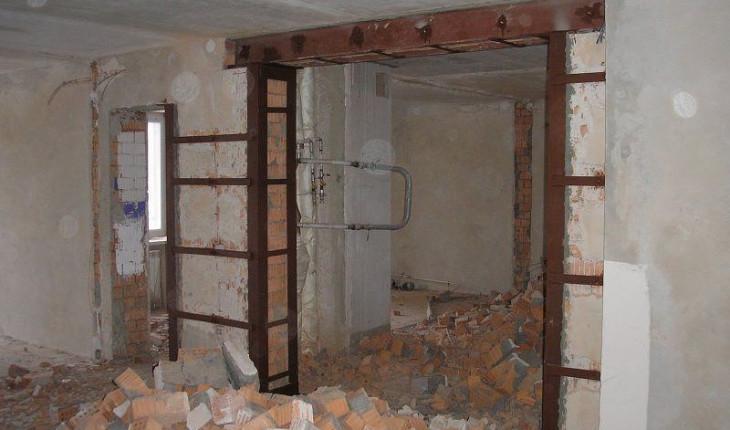 Как определить несущую стену