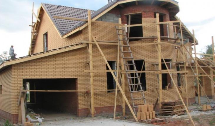 Строительство больших частных домов