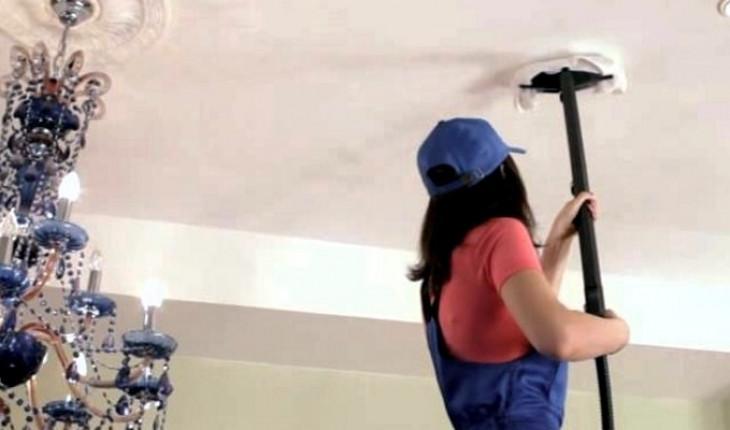 Отбеливание натяжных потолков