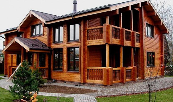Дома из бруса – удобство, польза, экологичность