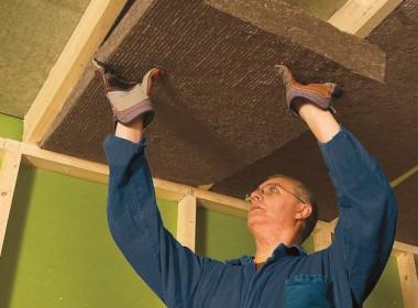 Потолки из минераловатных плит