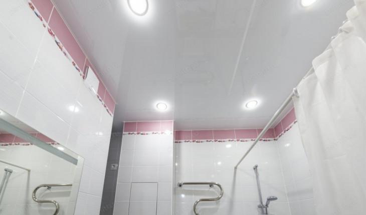 Выбираем потолок для ванной комнаты