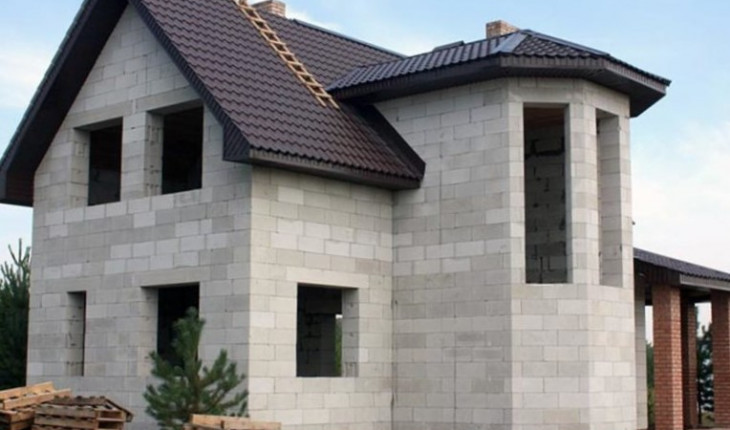 Преимущества домов из пенобетона