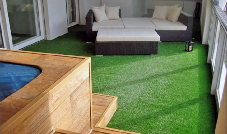 Искусственная трава: напольное покрытие