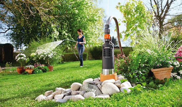 Полив огорода насосом – просто и быстро!
