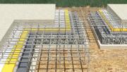 Создание фундамента для дома из пеноблоков