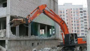 Стадии демонтажа сооружений