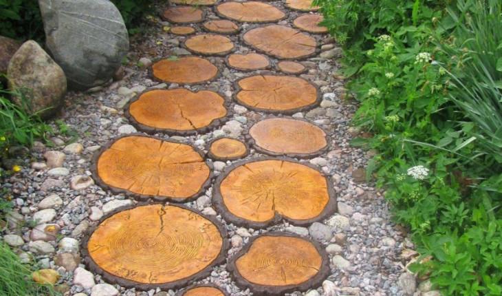 Как создать садовую дорожку: возможные варианты