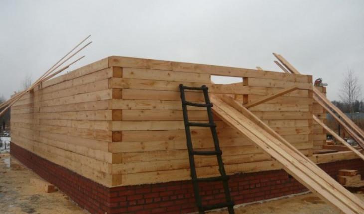 Технология строительства дома из бруса