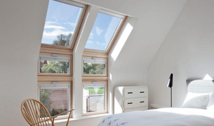 Мансардные окна для дома