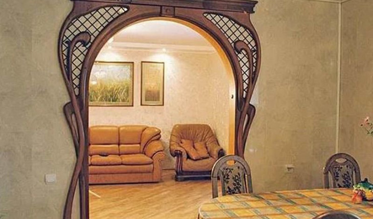 Как самому сделать деревянную арку