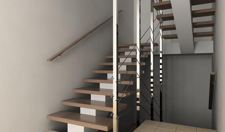 Строительство дома: как произвести расчет лестницы на второй этаж