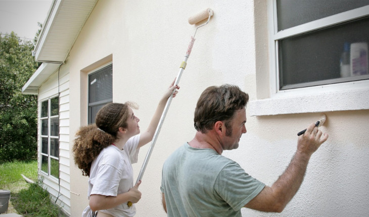 Краски для фасада дома