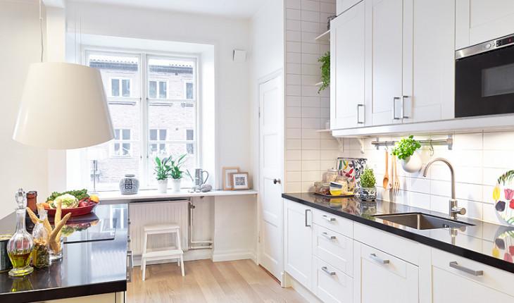 Идеи для дизайна белого кухонного интерьера