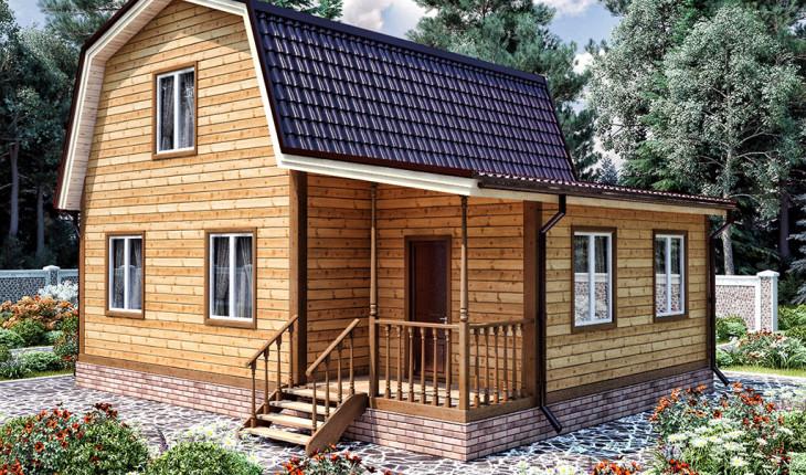 Проекты домов из бруса – идеи высокого качества