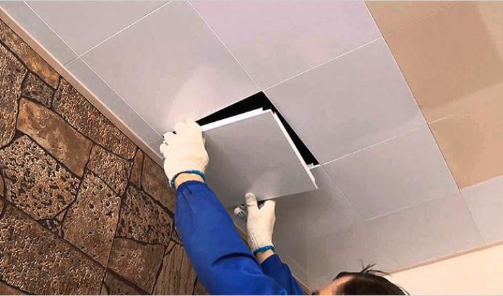 Технология монтажа кассетных подвесных потолков