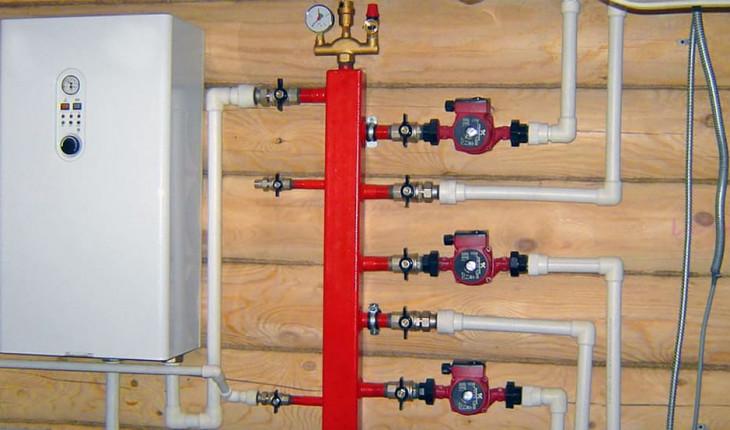 Как сделать отопление деревянного дома