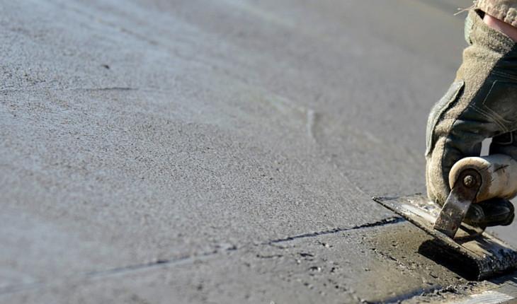 Формирование бетонной стяжки