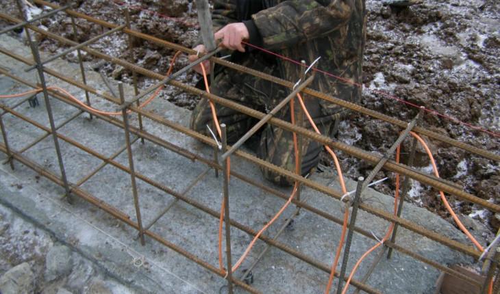 Расчет прогрева бетона проводом ПНСВ