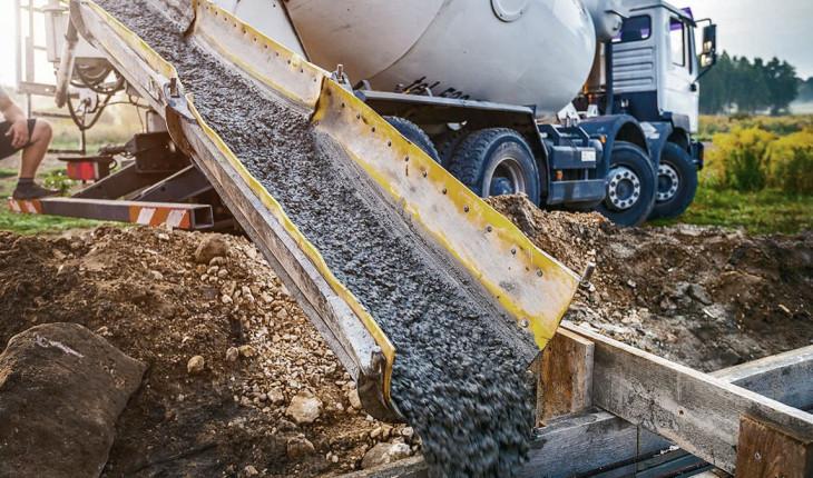 Раствор бетона для фундамента