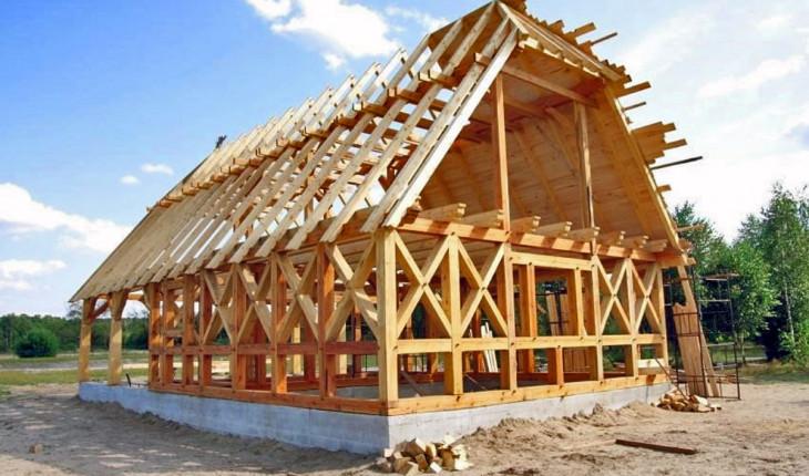 Особенности возведения каркасных конструкций