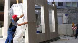 Область применения панелей из легких бетонов