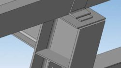 Узлы опирания стальных главных балок на колонны
