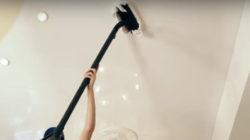 Способы ухода за натяжными потолками