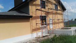 Отделка фасадов здания