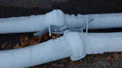 Как отогреть замерзшую канализацию