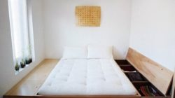 Ремонт спальной комнаты лучше закончить на матрасе
