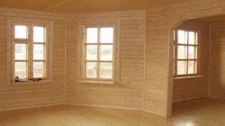 Про наружную и внутреннюю отделку дома из бруса