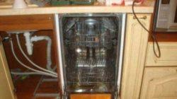 Как правильно установить посудомоечную машину?