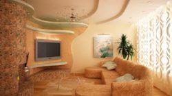 Обстановка зала в доме или квартире