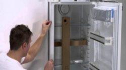 Как правильно установить холодильник