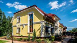 Внешний вид или оформление фасада дома
