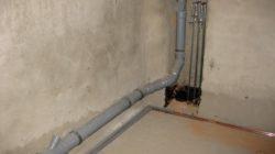 Самостоятельная установка полиэтиленовых канализационных труб