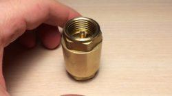Обратный клапан на воду: устройство и особенности монтажа