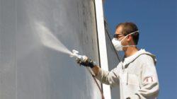 О способах окрашивания бетона