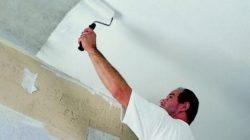 Готовим потолок к покраске