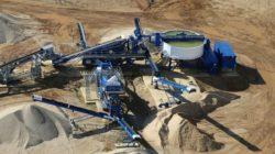 О способах промывки строительного песка