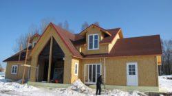 О строительстве коттеджа в зимний период