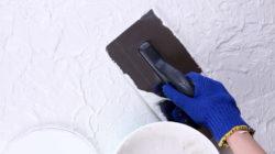 Фактурная краска для стен как правильно её наносить